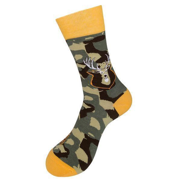 Funatic - I Like Big Bucks And I Cannot Lie Crew Socks | Men's / Women's - Knock Your Socks Off
