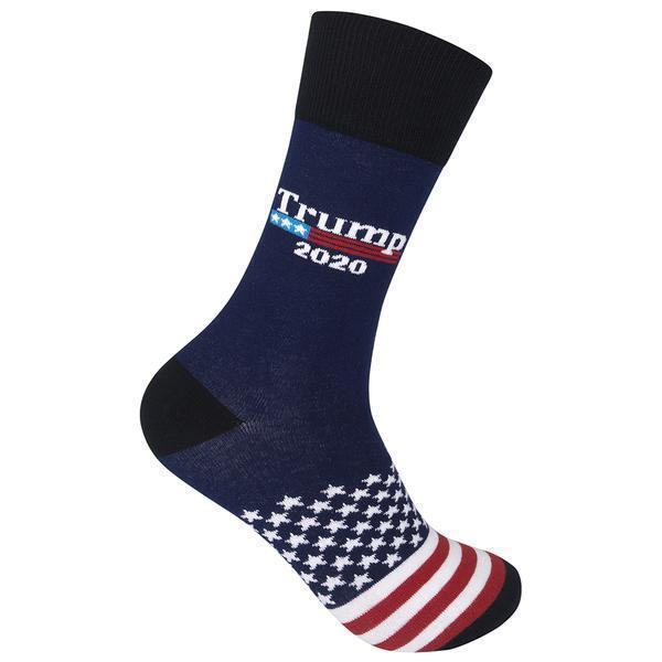 Funatic - Trump 2020 Crew Socks | Men's / Women's - Knock Your Socks Off