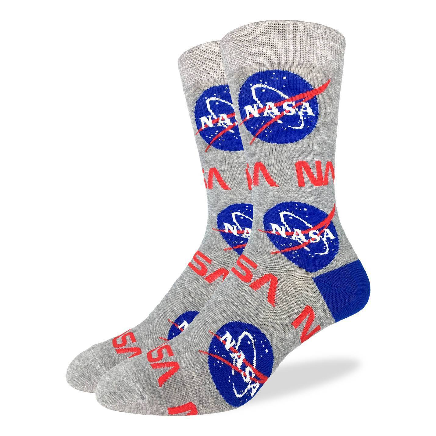 Good Luck Sock - NASA Crew Socks | Men's - Knock Your Socks Off