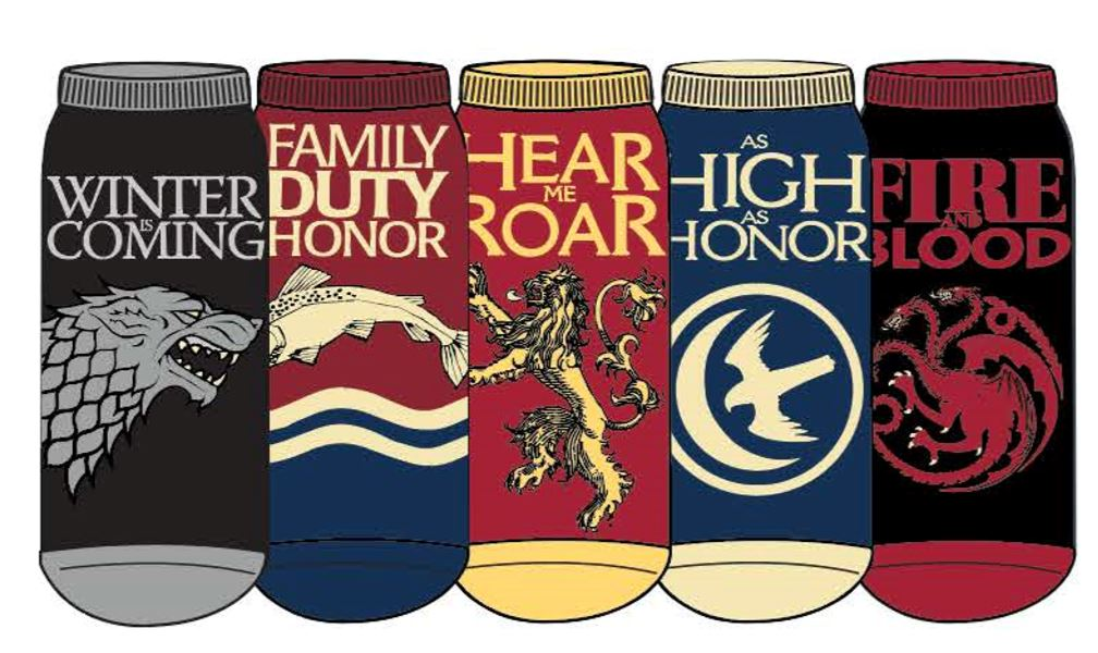 HYP - Game of Thrones 5-pack Ankle Socks | Women's - Knock Your Socks Off
