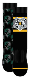 HYP - Harry Potter Slytherin 2-pack Crew Socks | Men's - Knock Your Socks Off
