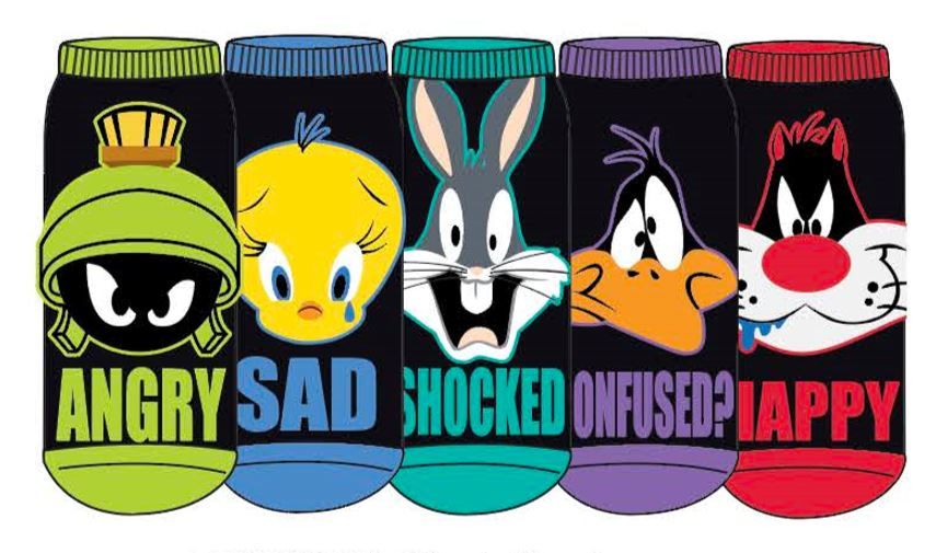 HYP - Looney Tunes 5-pack Ankle Socks | Women's - Knock Your Socks Off