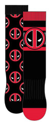 HYP - Marvel: Deadpool 2-pack Crew Socks | Men's - Knock Your Socks Off
