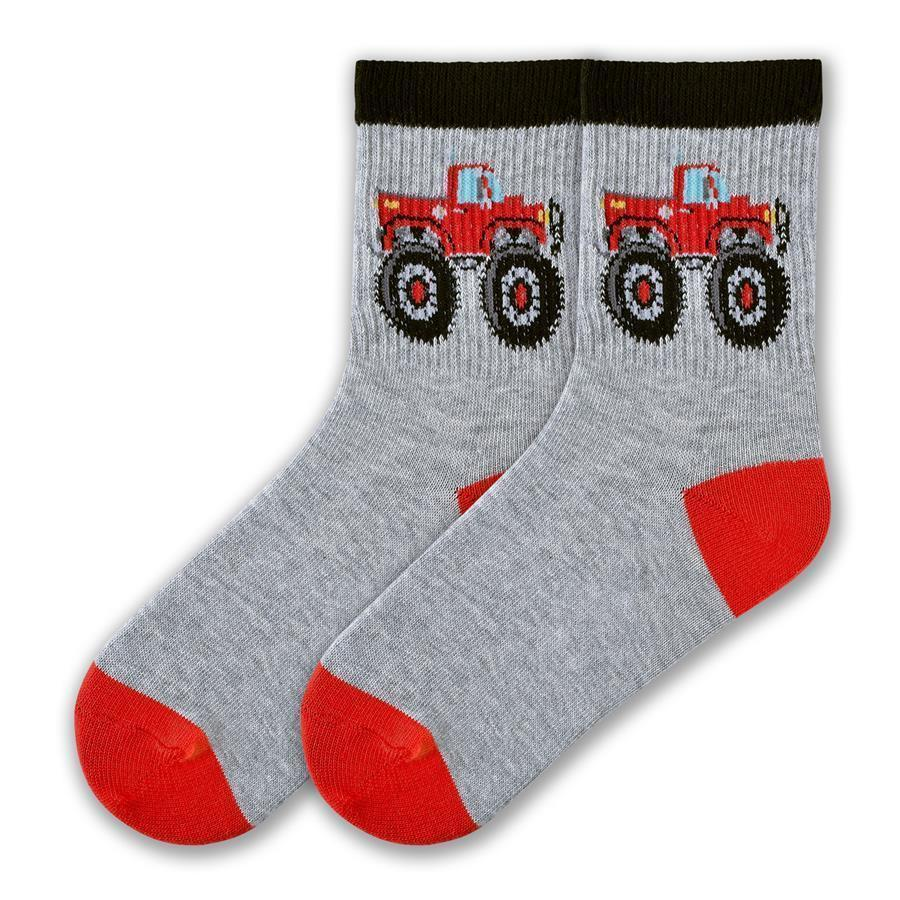 K.Bell - Big Truck Crew Socks | Kids' - Knock Your Socks Off