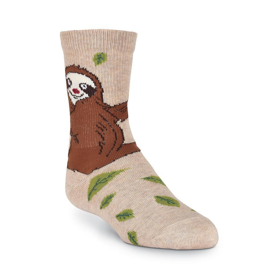 K.Bell - Sloth Crew Socks | Kids' - Knock Your Socks Off