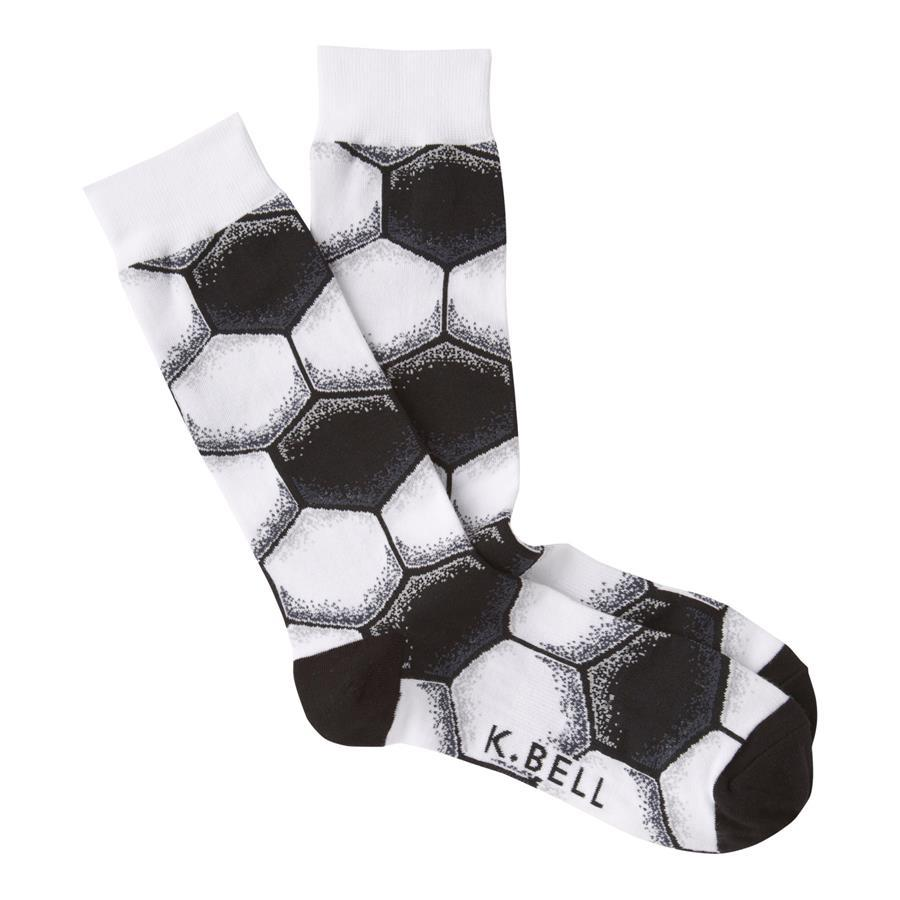 K.Bell - Soccer Crew Socks | Men's - Knock Your Socks Off