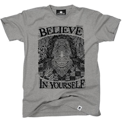 Little Bay Root - Believe In Yourself T-Shirt | Men's - Knock Your Socks Off