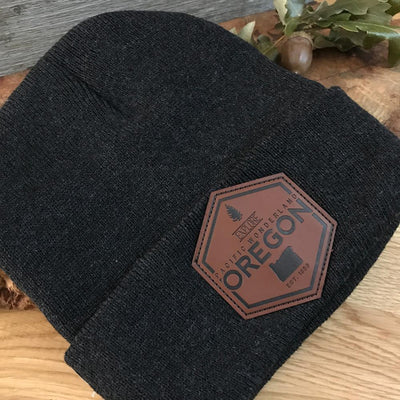 Little Bay Root - Explore Oregon Knit Beanie - Knock Your Socks Off
