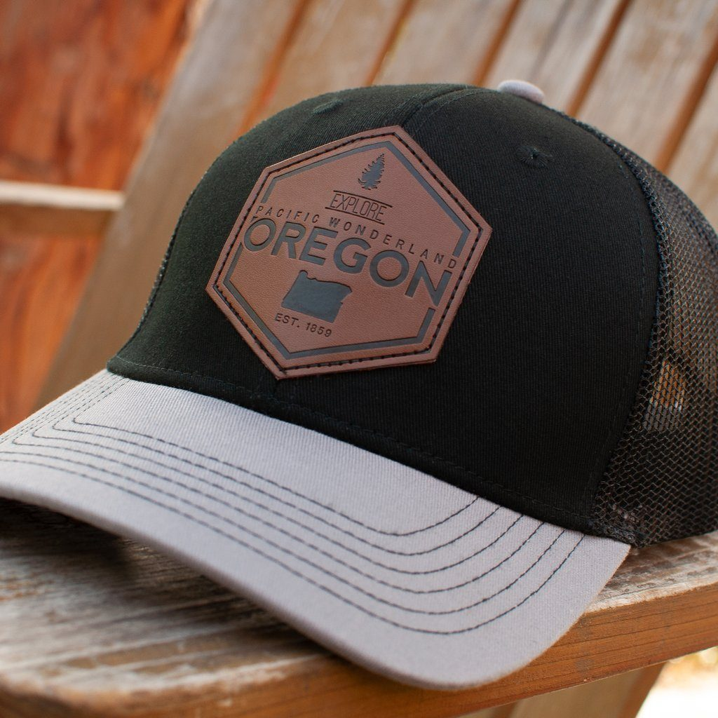 Little Bay Root - Explore Oregon Pacific Wonderland Curved Bill Trucker Hat - Knock Your Socks Off