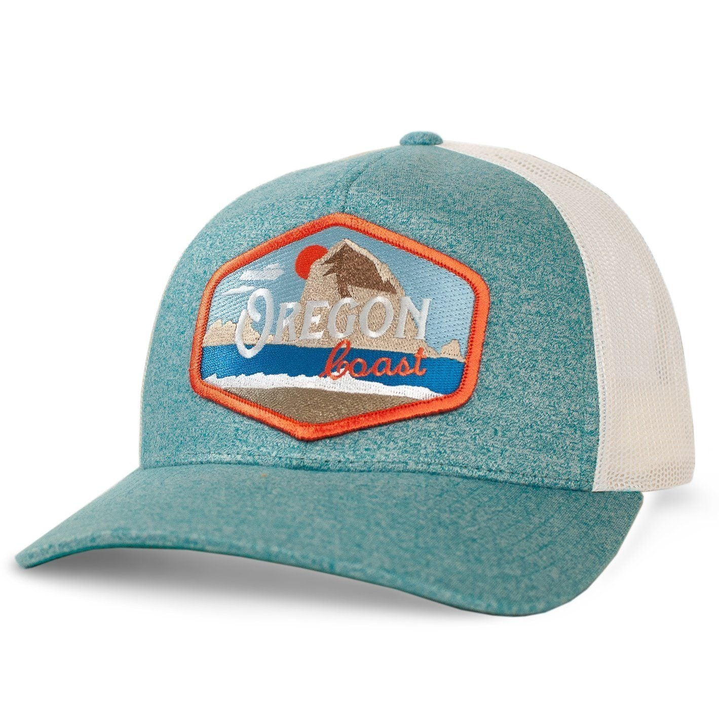 Little Bay Root - Oregon Coast Vintage Curved Bill Trucker Hat - Knock Your Socks Off