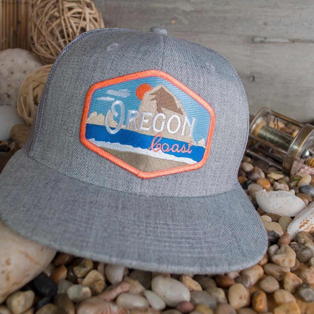 Little Bay Root - Oregon Coast Vintage Flat Bill Hat - Knock Your Socks Off