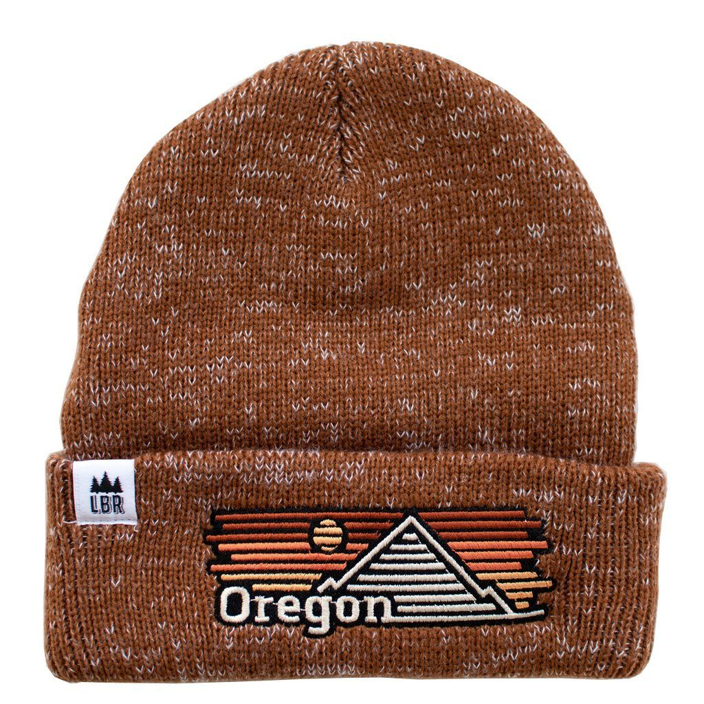 Little Bay Root - Oregon Horizons Chunky-Knit Beanie - Knock Your Socks Off