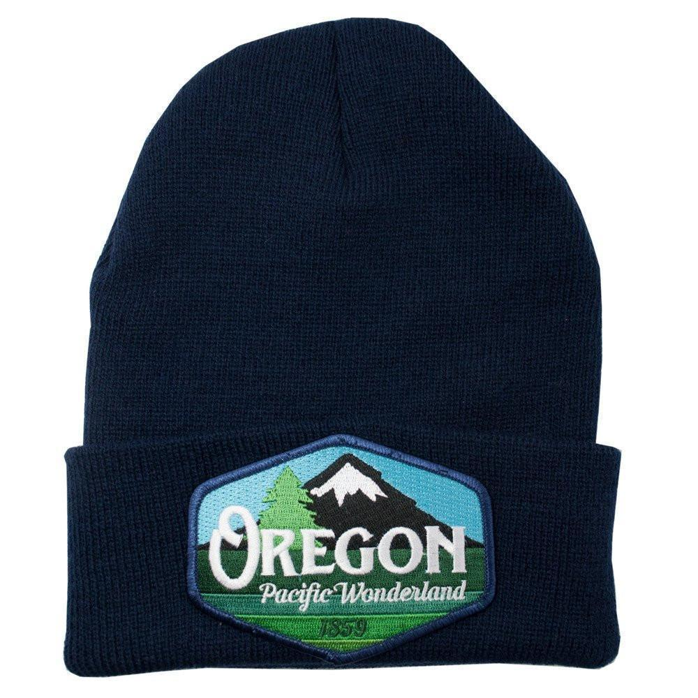 Little Bay Root - Oregon Pacific Wonderland Vintage Knit Beanie - Knock Your Socks Off