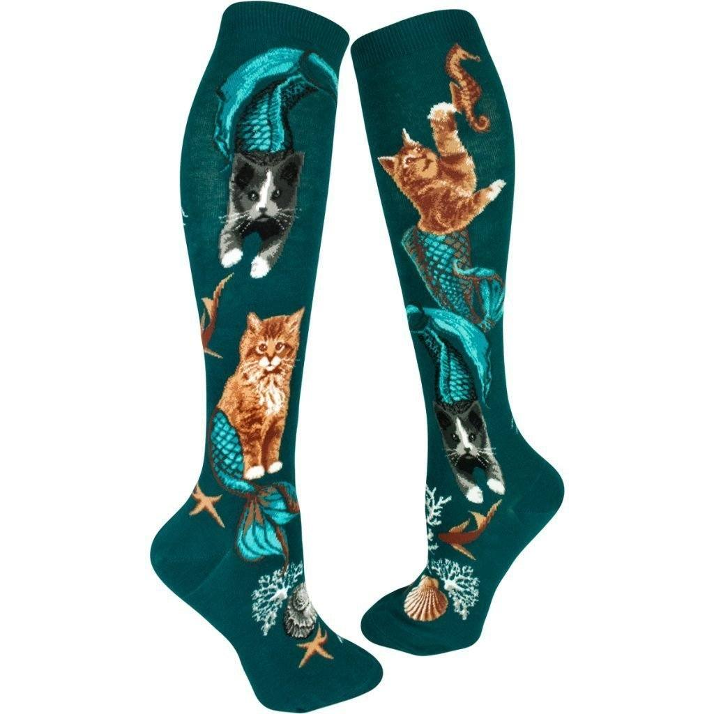ModSock - Purrmaids Knee High Socks | Women's - Knock Your Socks Off