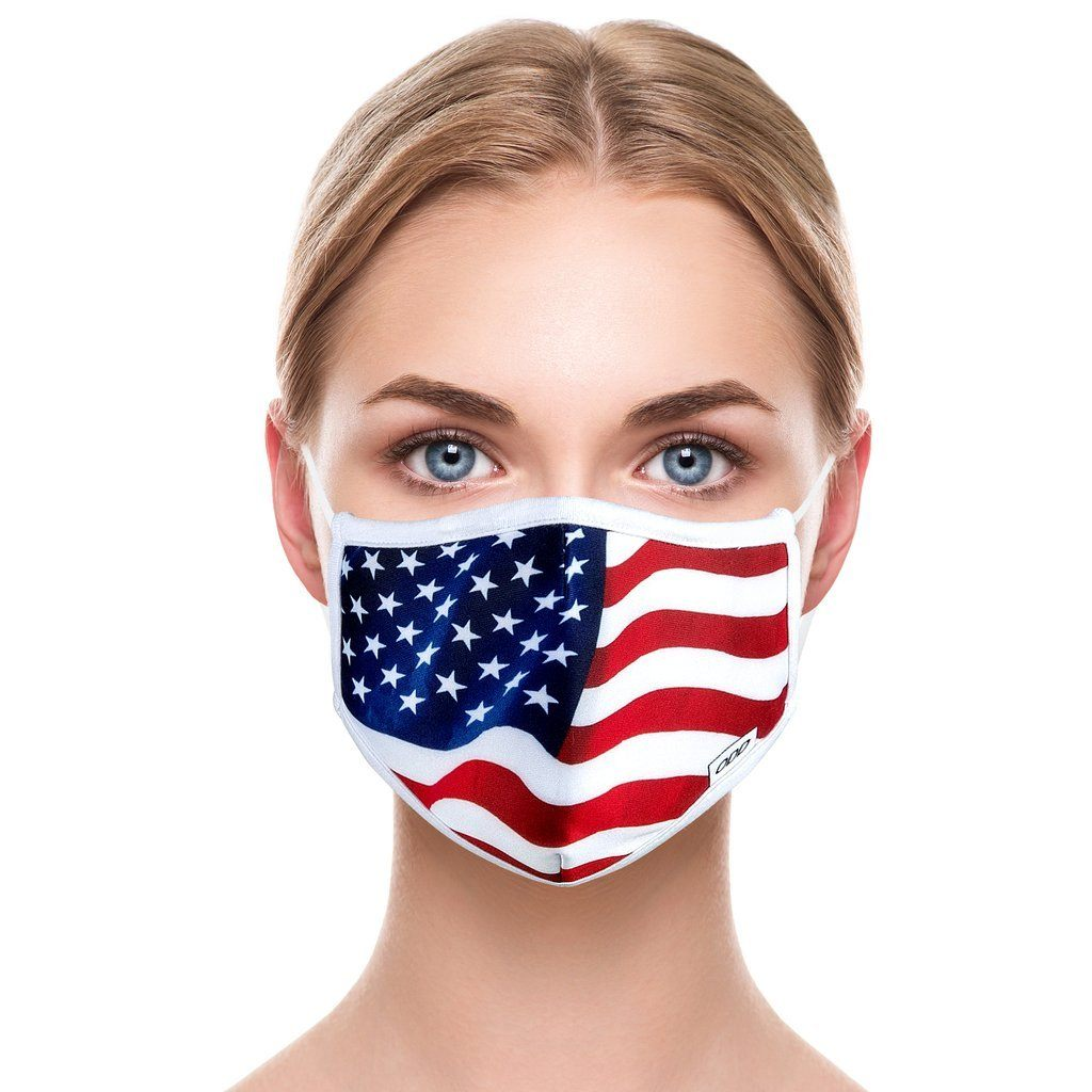 ODD SOX - USA Flag Mask - Knock Your Socks Off