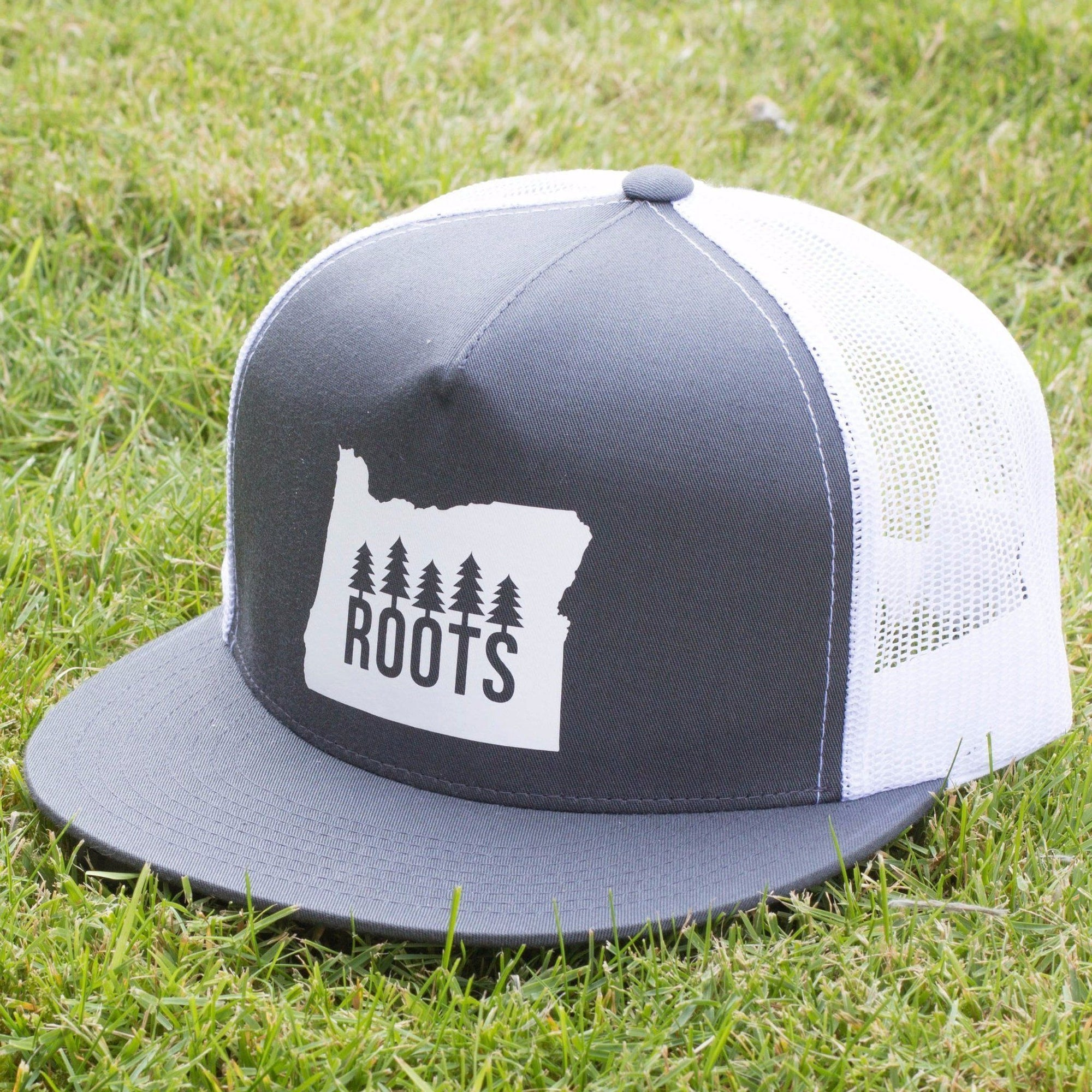 SNW - Oregon Roots Snapback Flat Bill Hat - Knock Your Socks Off
