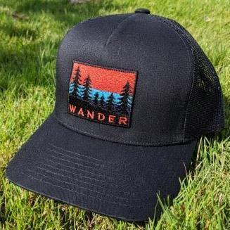 SNW - Wander Snapback Curved Bill Trucker Hat - Knock Your Socks Off
