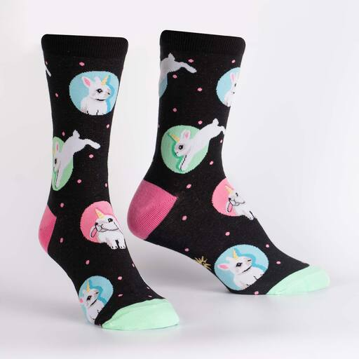 Sock It To Me - Hop to It Crew Socks | Women's - Knock Your Socks Off