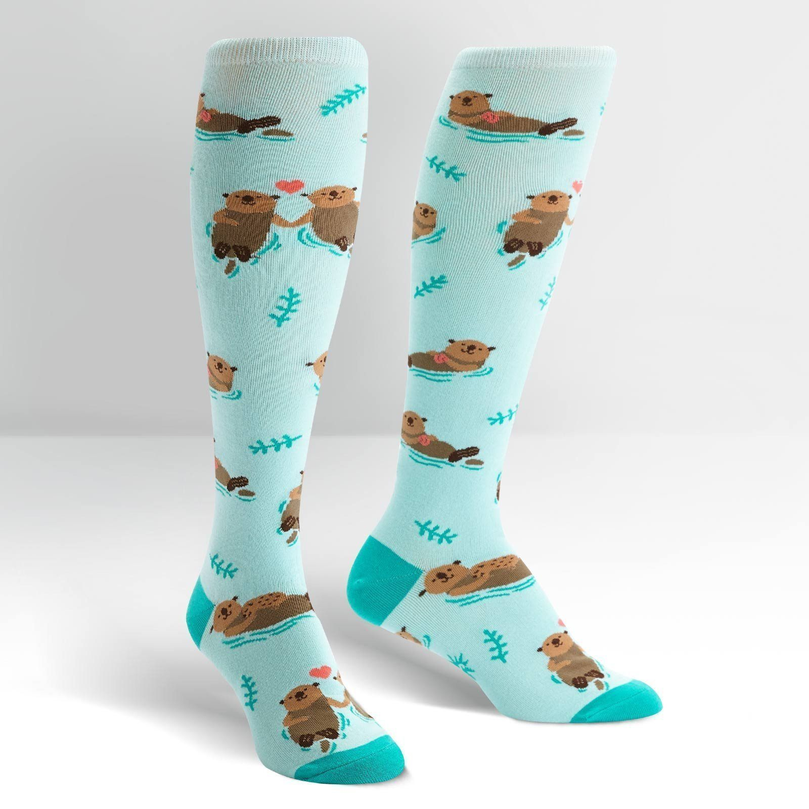 Sock It To Me - My Otter Half Knee High Socks | Women's - Knock Your Socks Off