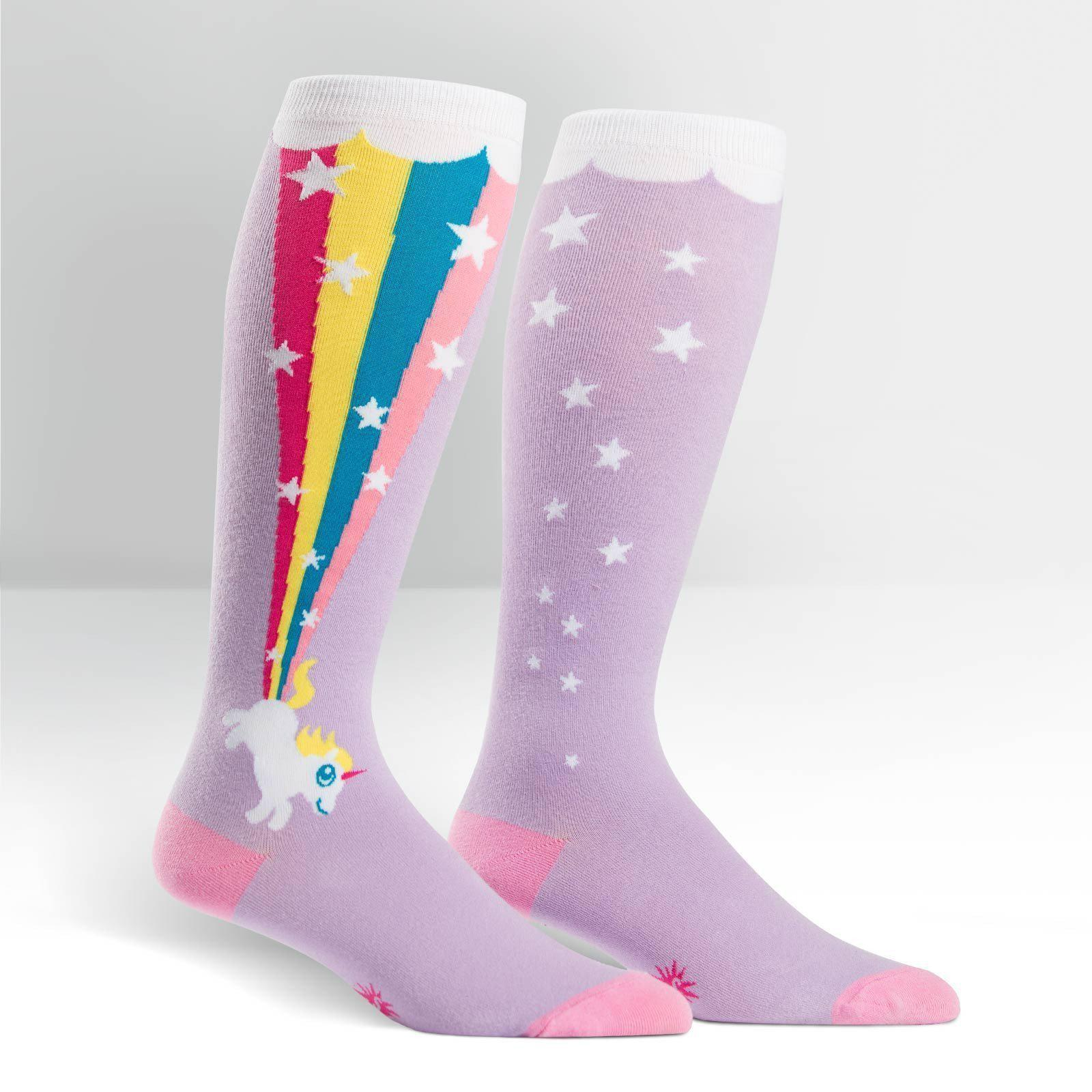 Sock It To Me - STRETCH-IT Rainbow Blast Knee High Socks | Women's - Knock Your Socks Off