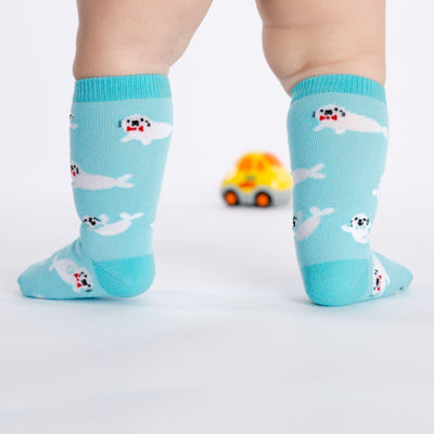 Sock It To Me - Toddler Baby Seals Knee High Socks | Kids' - Knock Your Socks Off