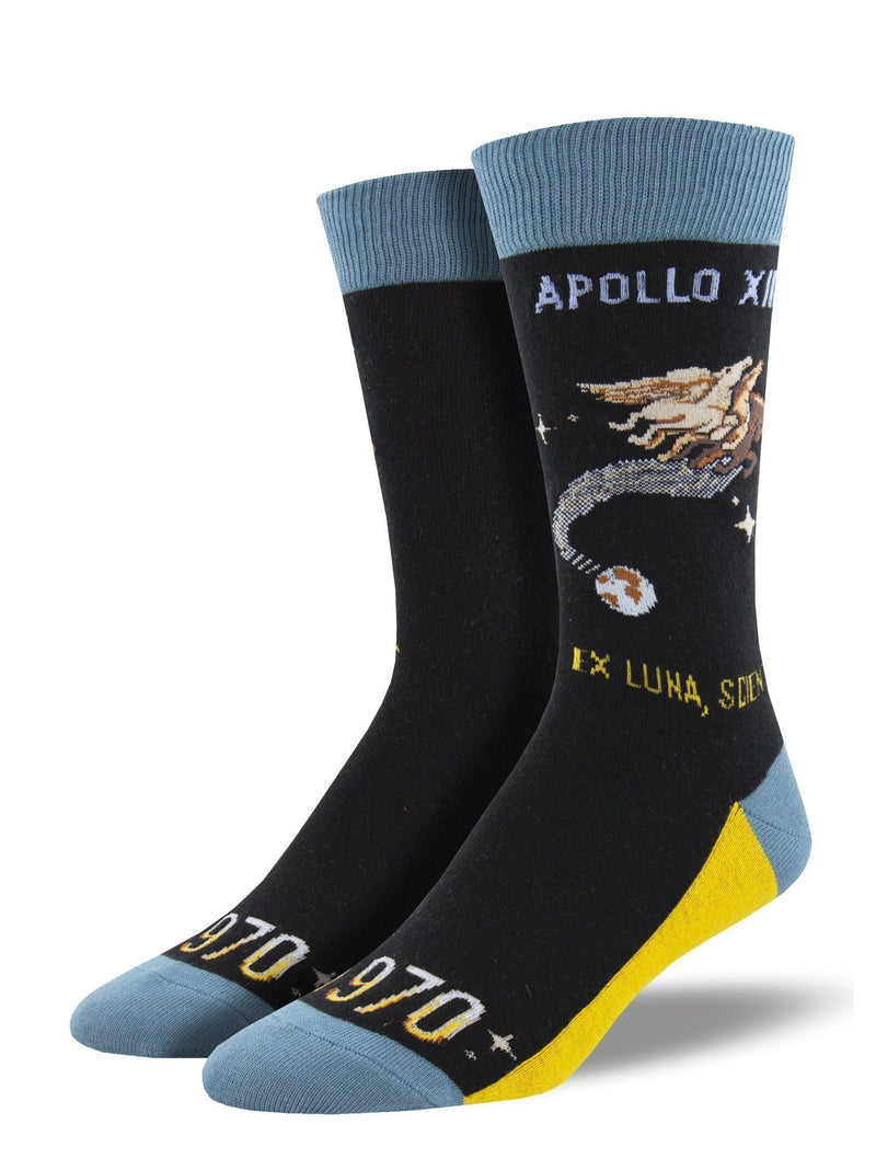 Socksmith - Apollo XIII Crew Socks | Men's - Knock Your Socks Off