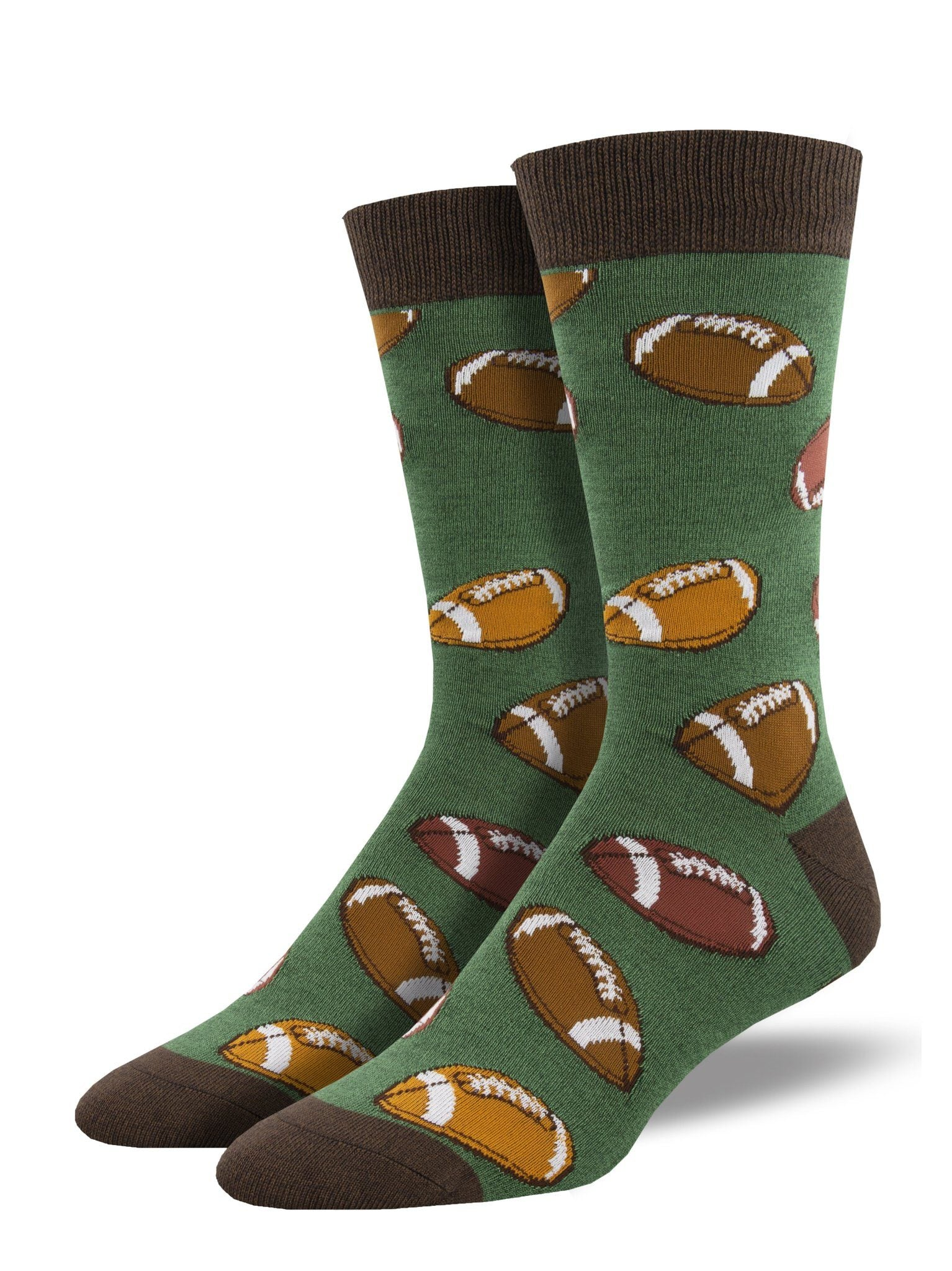Socksmith - Bamboo Hut Hut Hike Crew Socks | Men's - Knock Your Socks Off