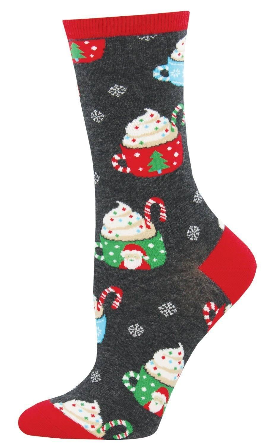 Socksmith - Cocoa Christmas Crew Socks | Women's - Knock Your Socks Off