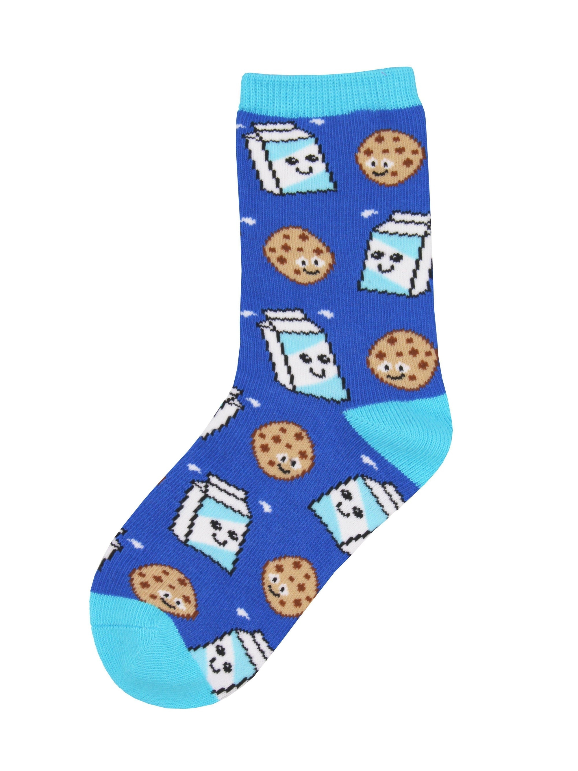 Socksmith - Cookies And Milk Crew Socks | Kids' - Knock Your Socks Off