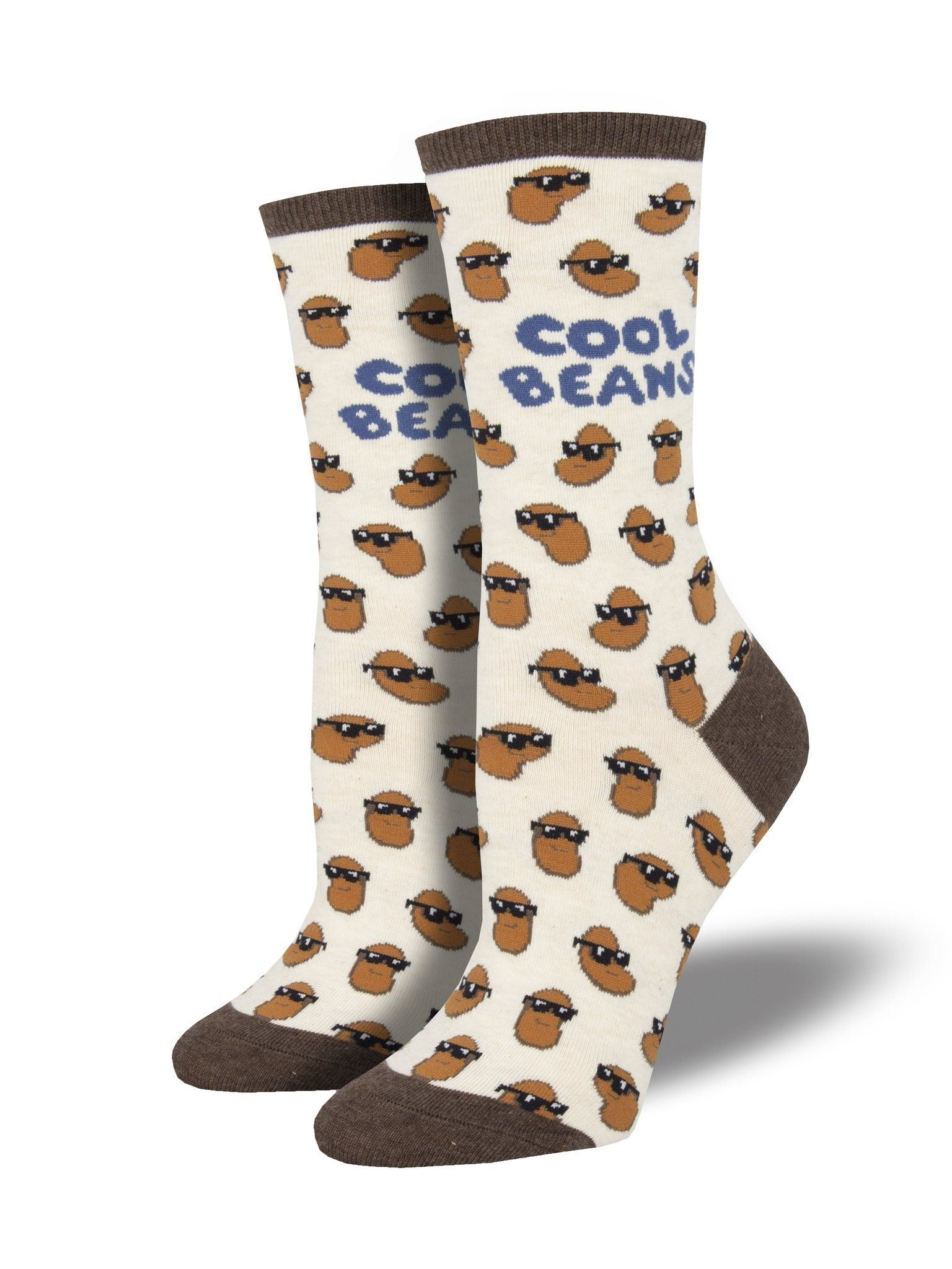 Socksmith - Cool Beans Crew Socks | Women's - Knock Your Socks Off