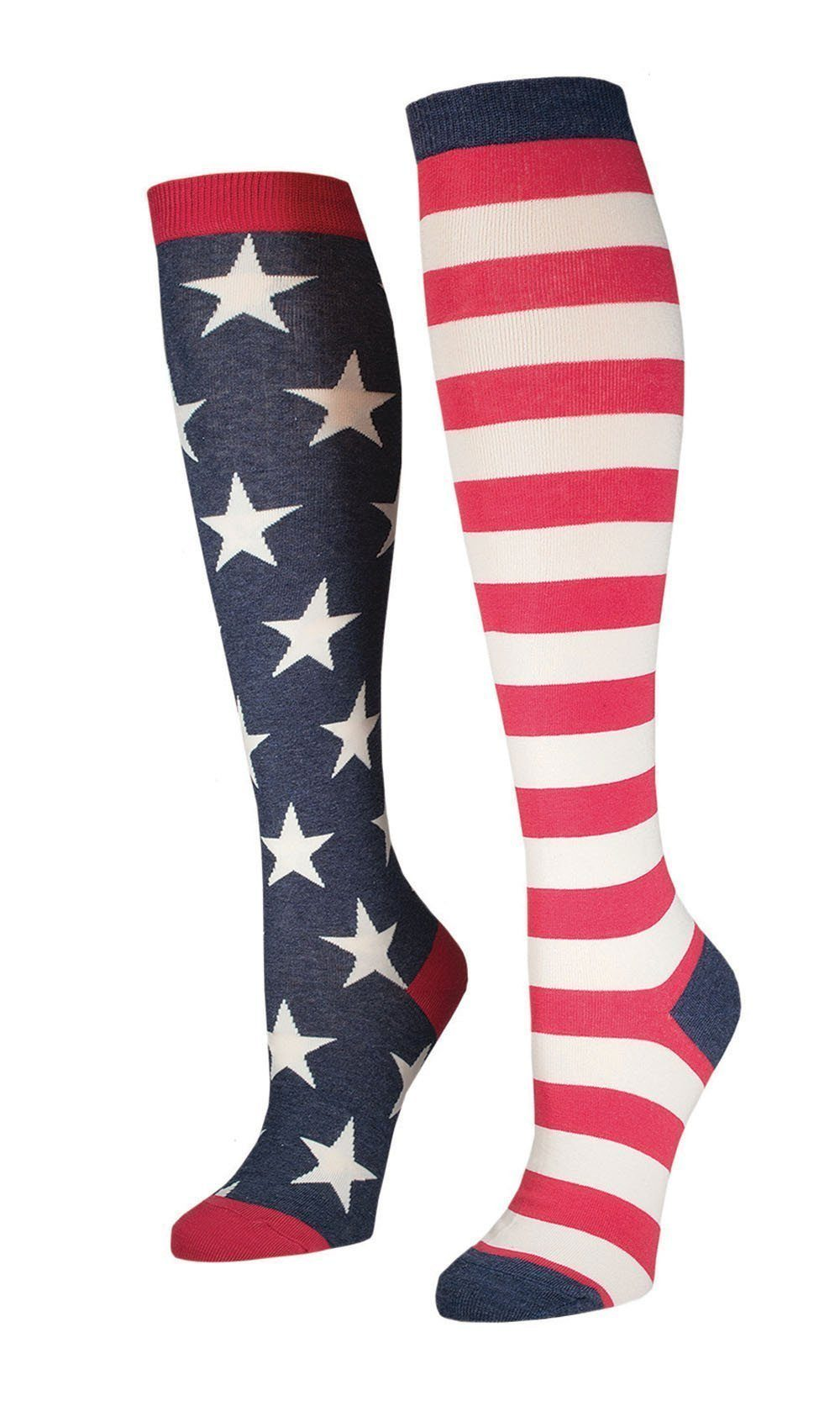 Socksmith - Flag Knee High Socks | Women's - Knock Your Socks Off