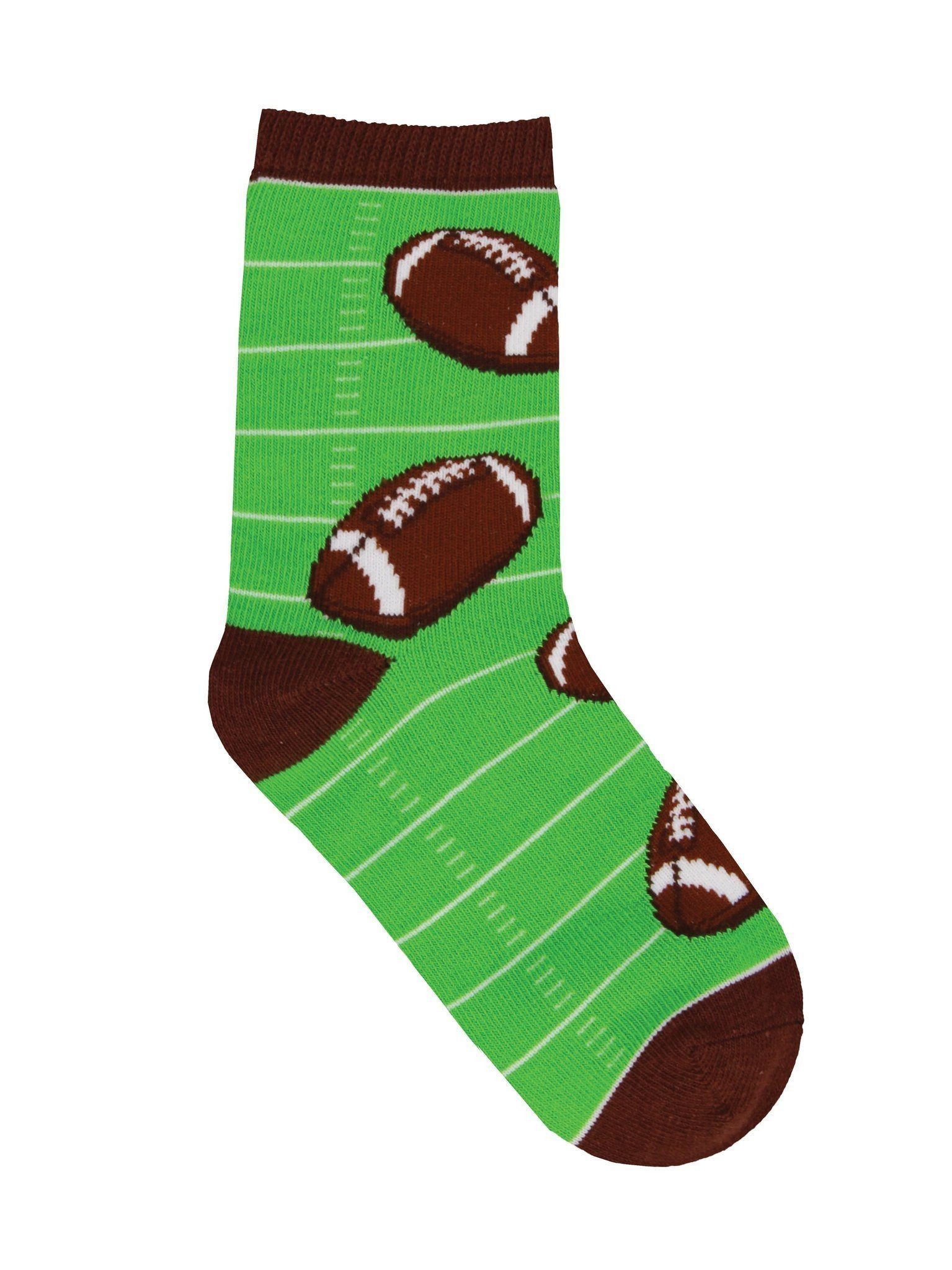 Socksmith - Football Crew Socks | Kids' - Knock Your Socks Off