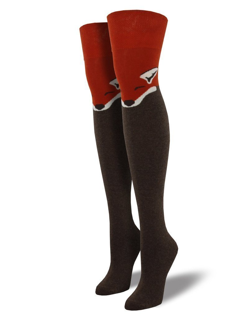 Socksmith - Fox Over The Knee Socks | Women's - Knock Your Socks Off