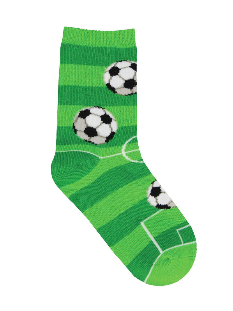 Socksmith - Goal For It Crew Socks | Kids' - Knock Your Socks Off