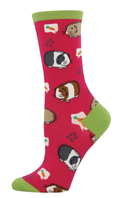 Socksmith - Guinea Pigs Crew Socks | Women's - Knock Your Socks Off