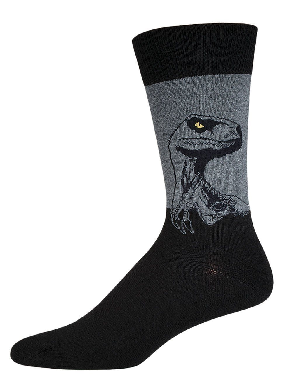 Socksmith - King Size Raptor Crew Socks | Men's - Knock Your Socks Off