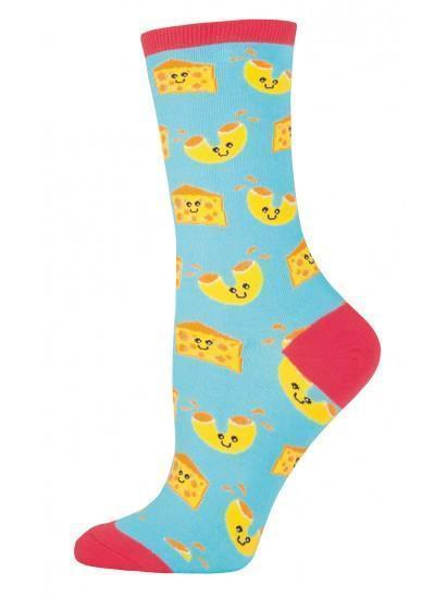 Socksmith - Mac N' Cheese Crew Socks | Women's - Knock Your Socks Off