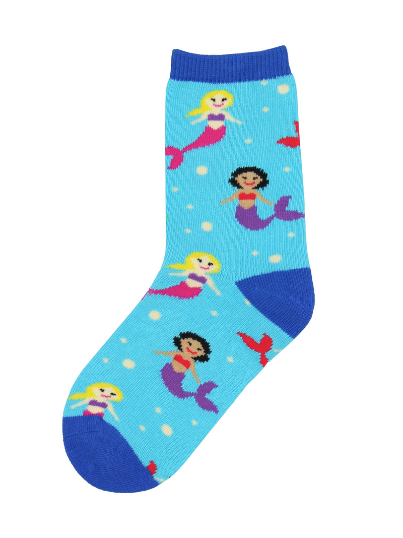 Socksmith - Mermaid You Look Crew Socks | Kids' - Knock Your Socks Off