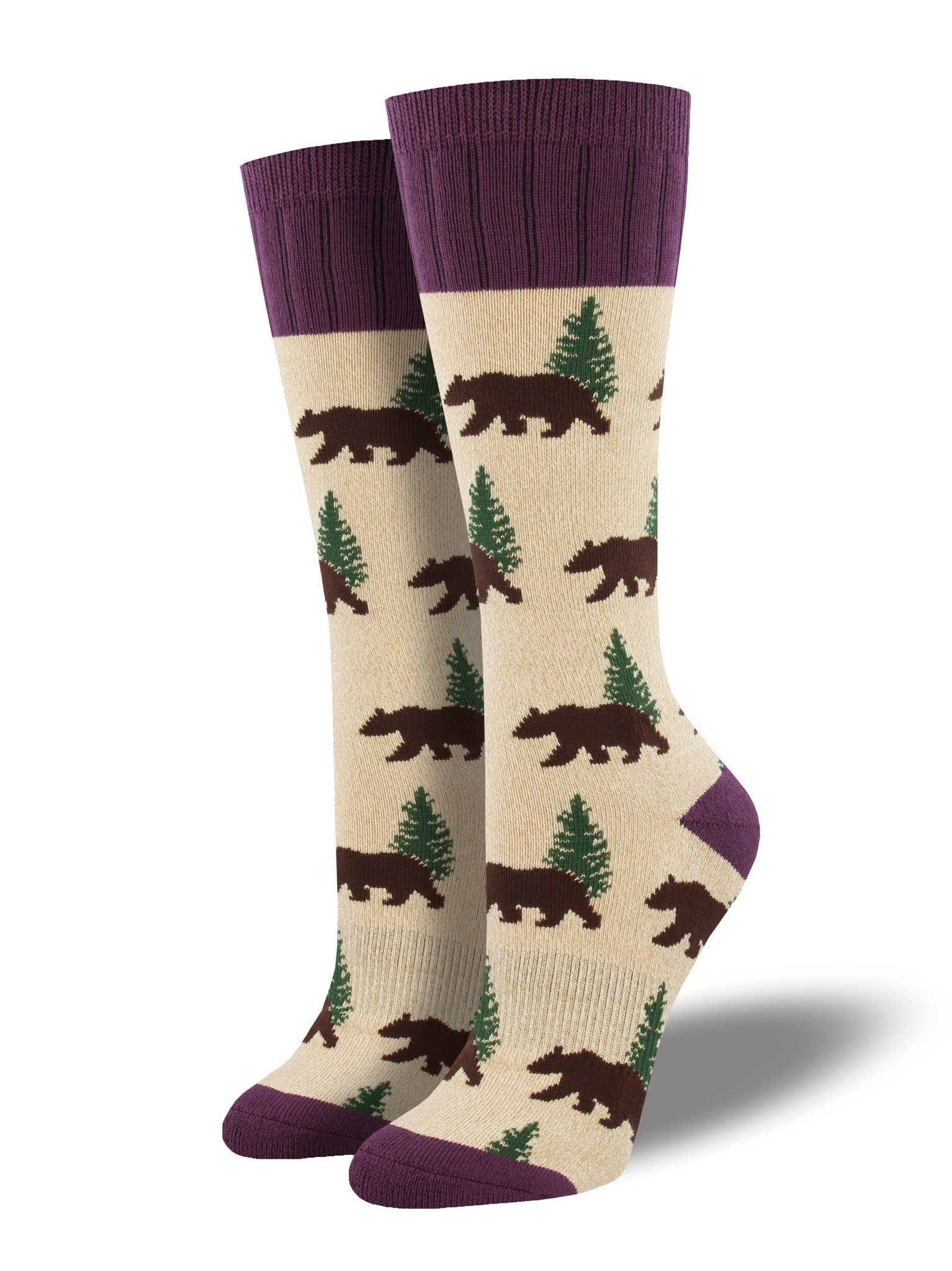 Socksmith - Outlands Bear Boot Socks | Women's - Knock Your Socks Off