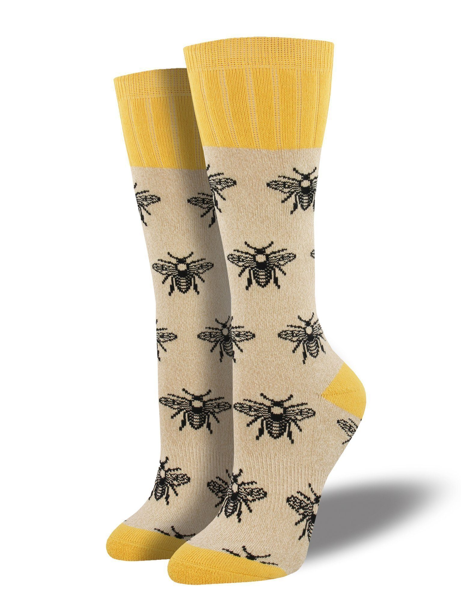 Socksmith - Outlands Bee Boot Socks | Women's - Knock Your Socks Off