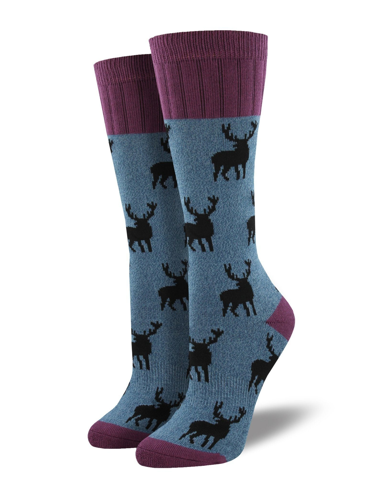 Socksmith - Outlands Stag Boot Socks | Women's - Knock Your Socks Off