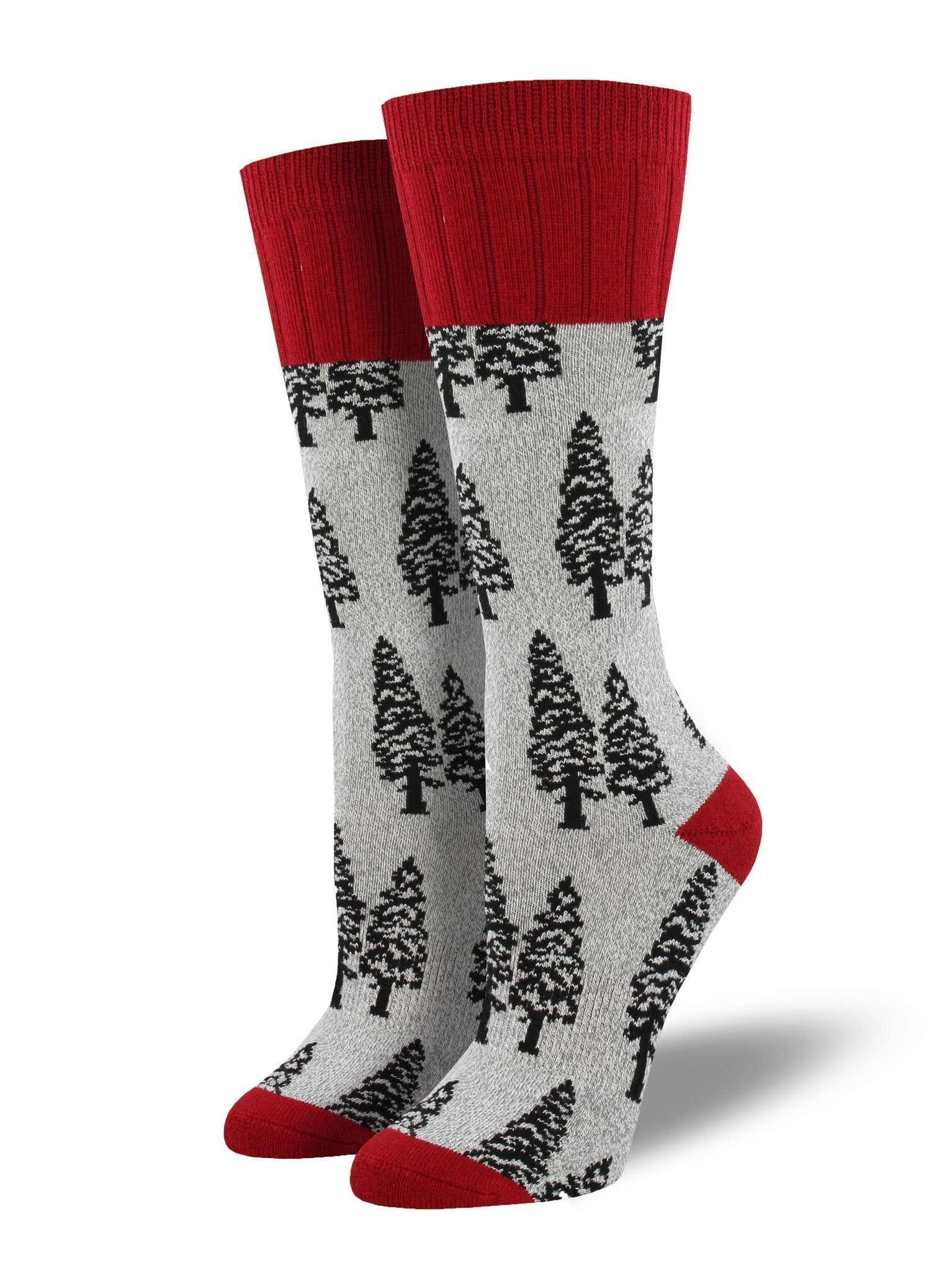 Socksmith - Outlands Trees Boot Socks | Women's - Knock Your Socks Off