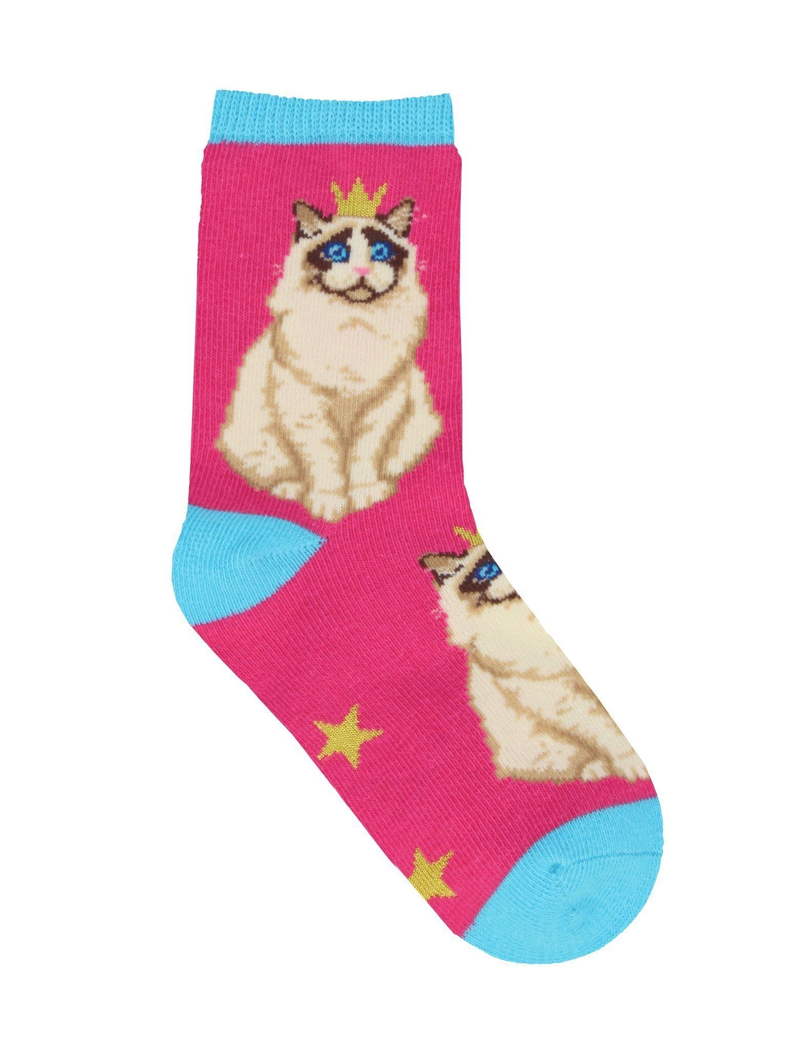 Socksmith - Practically Purrfect Crew Socks | Kids' - Knock Your Socks Off