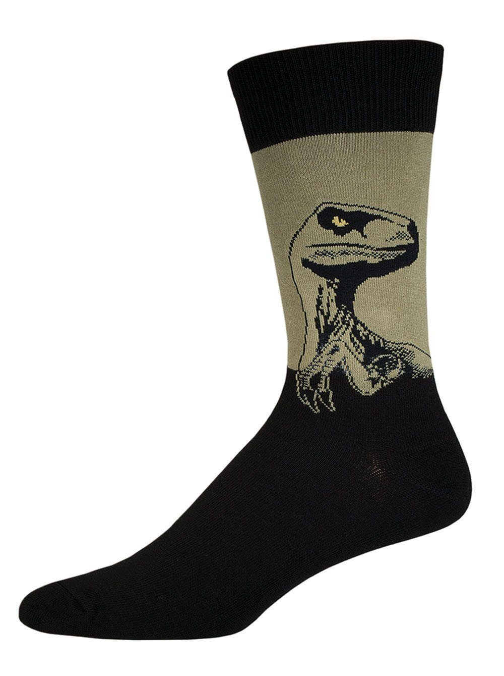 Socksmith - Raptor Crew Socks | Men's - Knock Your Socks Off