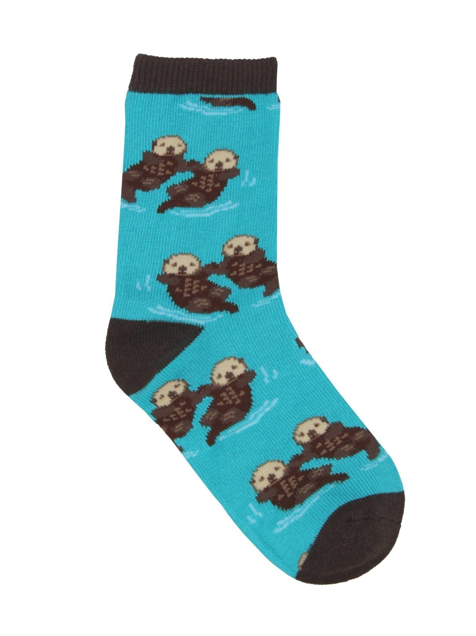 Socksmith - Significant Otter Crew Socks | Kids' - Knock Your Socks Off