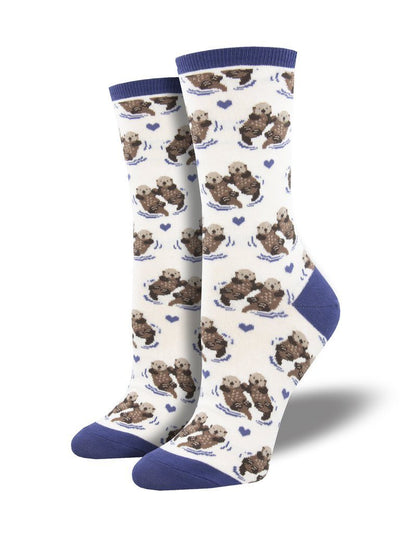 Socksmith - Significant Otter Crew Socks | Women's - Knock Your Socks Off