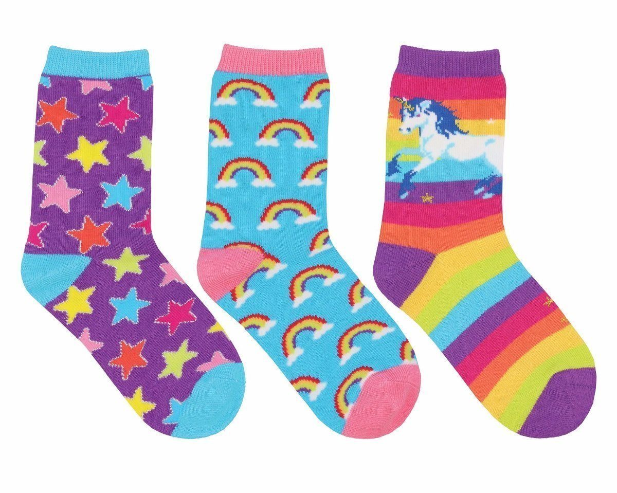 Socksmith - Sparkle Party 3-pack Crew Socks | Kids' - Knock Your Socks Off