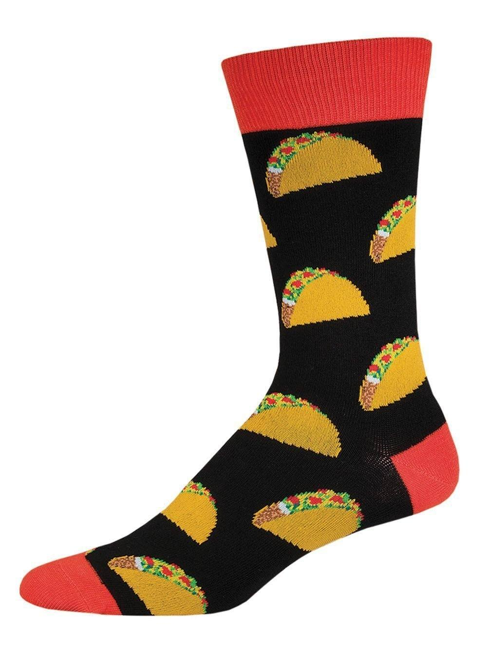 Socksmith - Tacos Crew Socks | Men's - Knock Your Socks Off