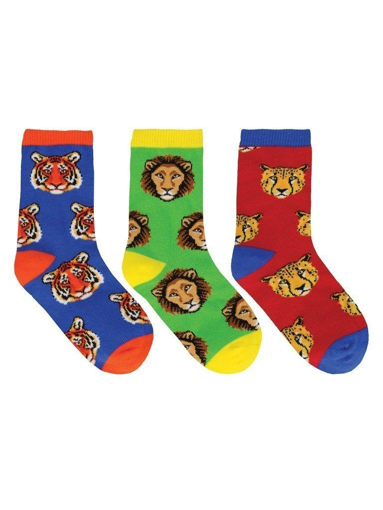Socksmith - Wild Child 3-pack Crew Socks | Kids' - Knock Your Socks Off
