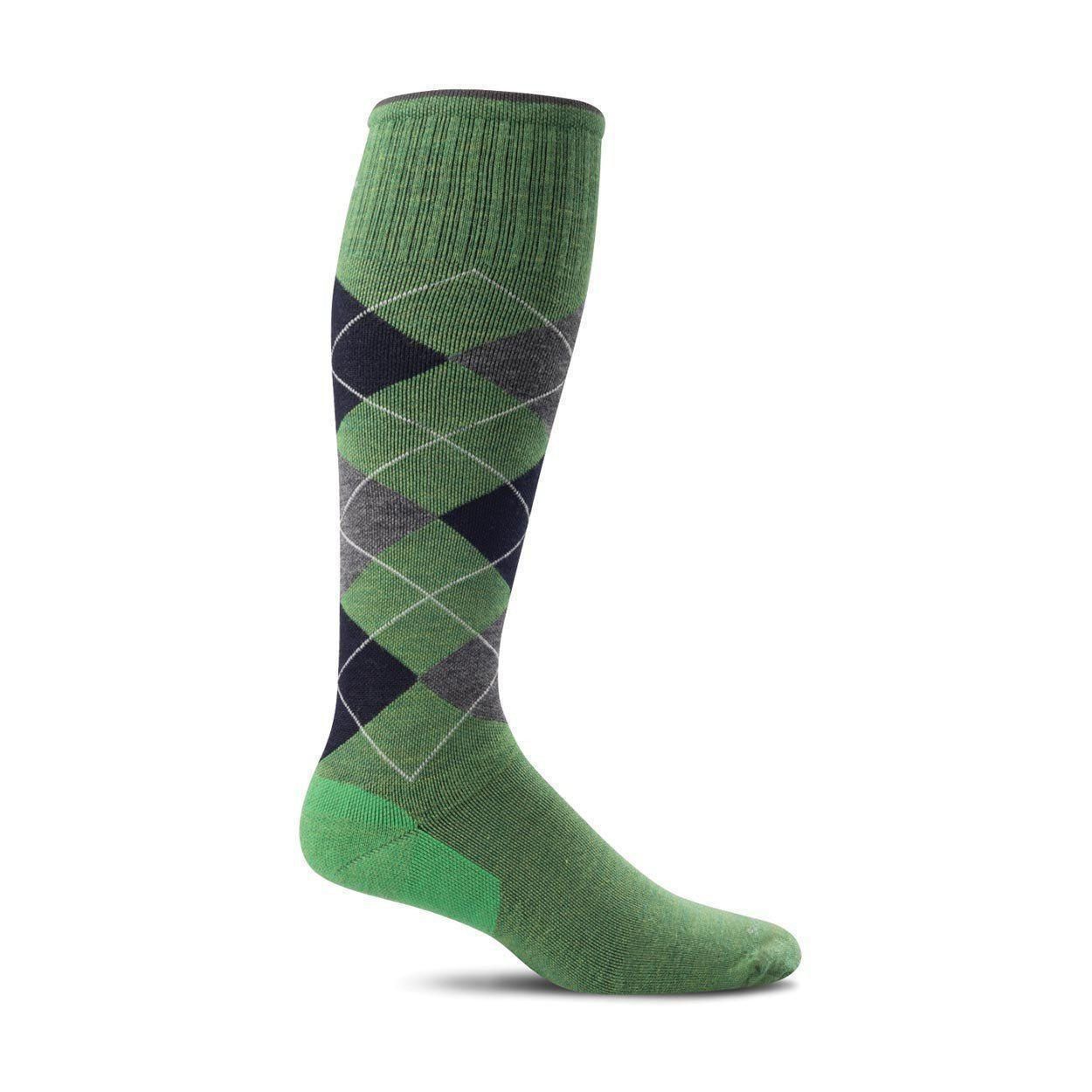Sockwell - Argyle Moderate Graduated Compression (15-20 mmHg) Socks | Men's - Knock Your Socks Off